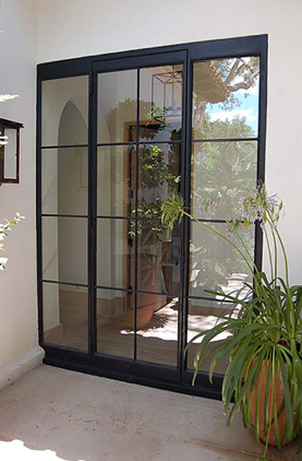 The Eden Companies Rehme Wrought Iron Steel Exterior Doors