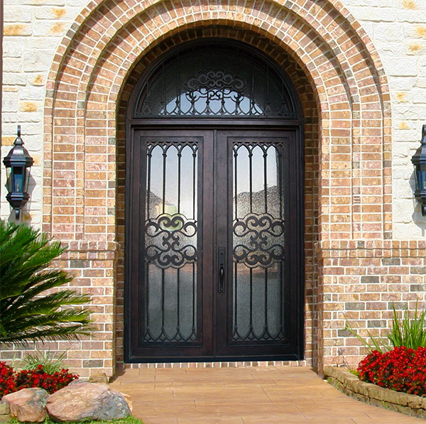 The Eden Companies Glass Craft Wrought Iron Steel